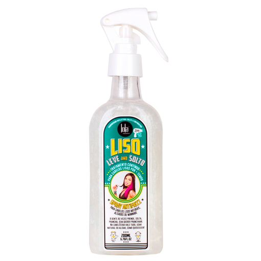 Lola Cosmetics Liso, Leve e Solto - Spray Antifrizz - 200ml